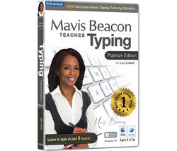 Mavis Beacon Teaches Typing - Platinum Edition