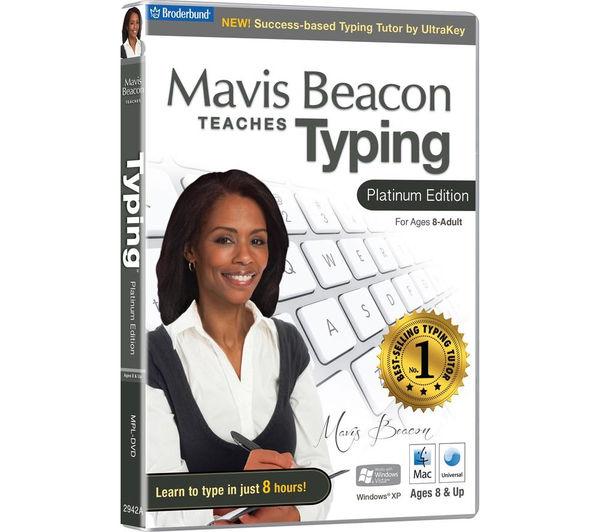 Image of AVANQUEST Mavis Beacon Teaches Typing - Platinum Edition