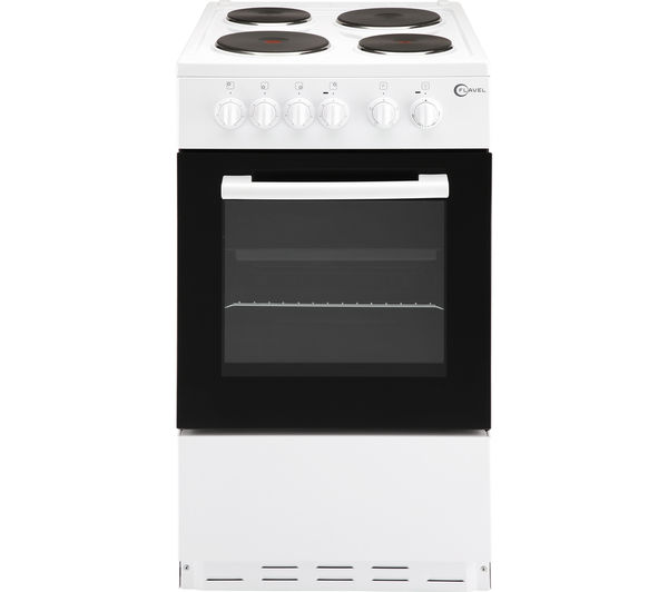 Image of FLAVEL FSBE50W 50 cm Electric Cooker - White