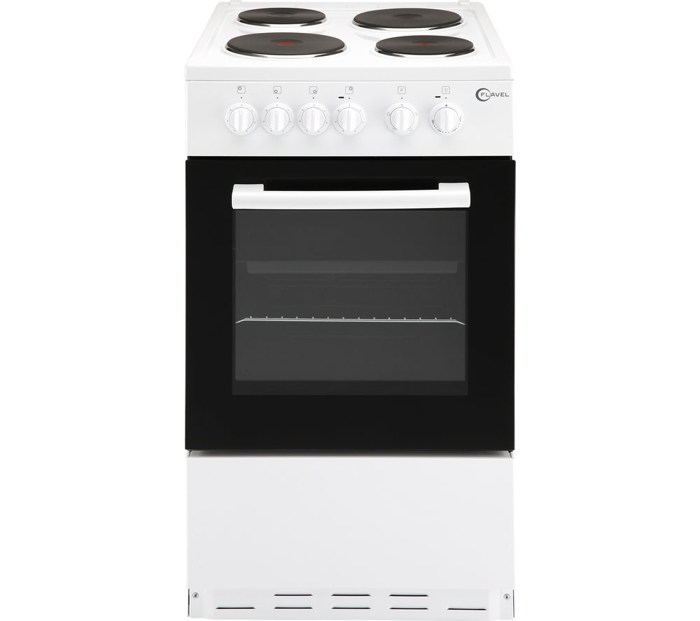 Compare prices for Flavel FSBE50W 50cm Electric Cooker