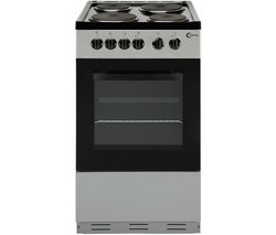 FLAVEL FSBE50S 50 cm Electric Solid Plate Cooker - Silver & Black Best Price, Cheapest Prices