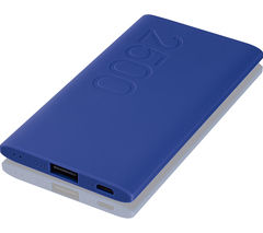 GOJI G25PBBL16 Portable Power Bank - Blue