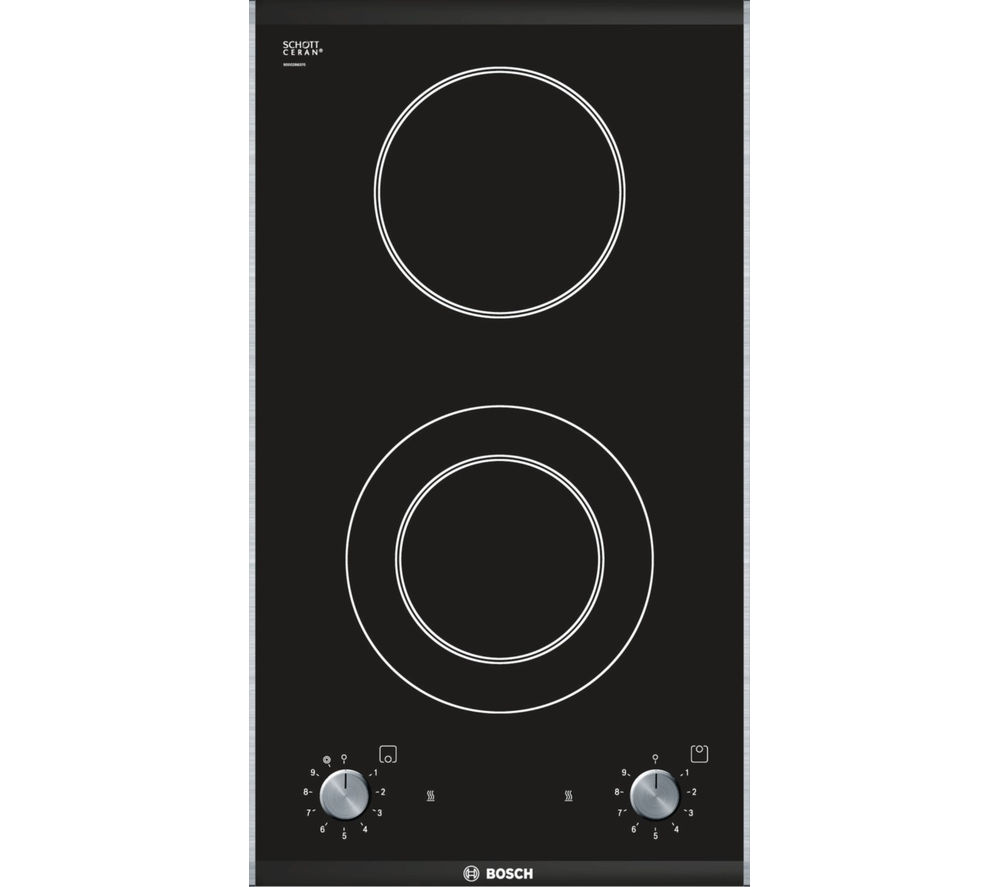 BOSCH Logixx PKF375V14E Electric Ceramic Hob - Black