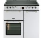 LEISURE Cookmaster CK90C230S 90 cm Electric Ceramic Range Cooker - Silver