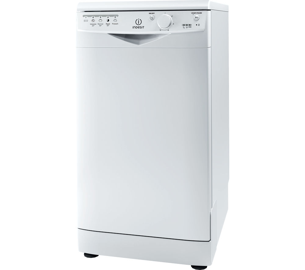 INDESIT DSR15B Slimline Dishwasher - White