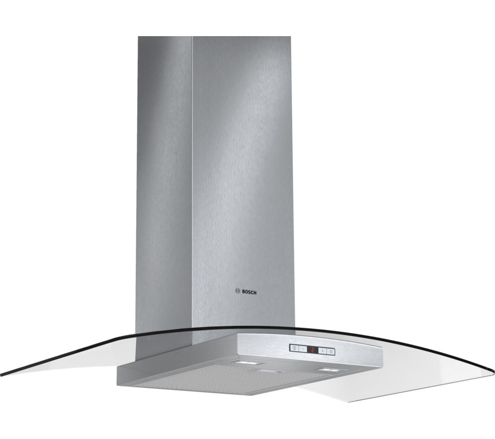 BOSCH DWA097E51B Chimney Cooker Hood - Stainless Steel
