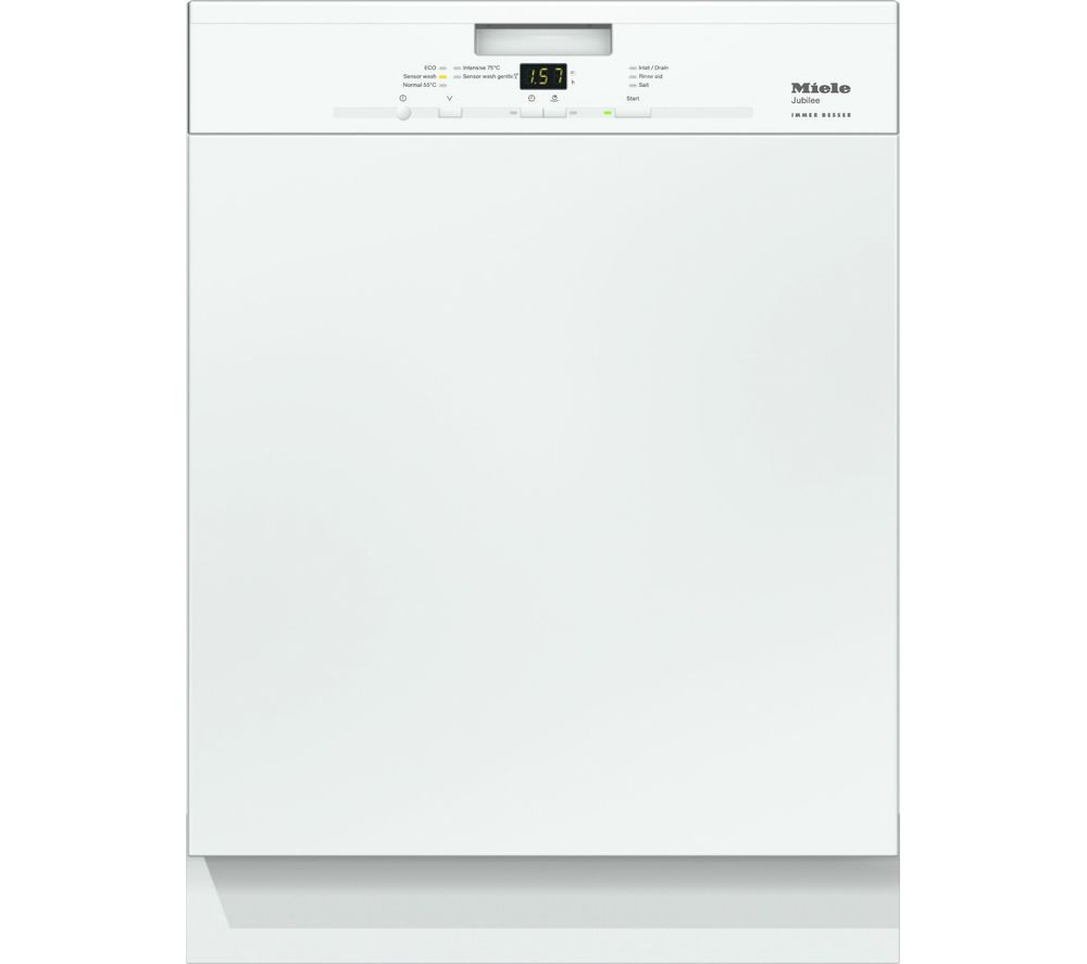 MIELE G4940I Full-size Semi-integrated Dishwasher - White