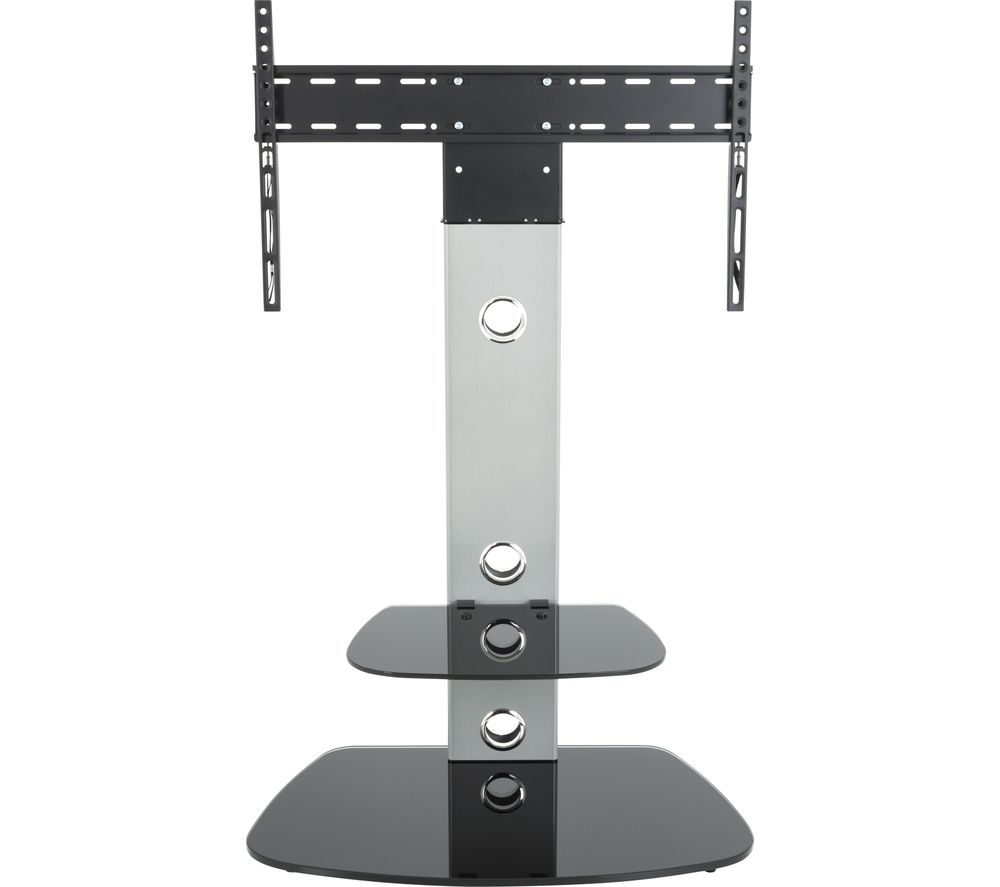 AVF Lugano FSL700LUCS TV Stand with Bracket - Silver