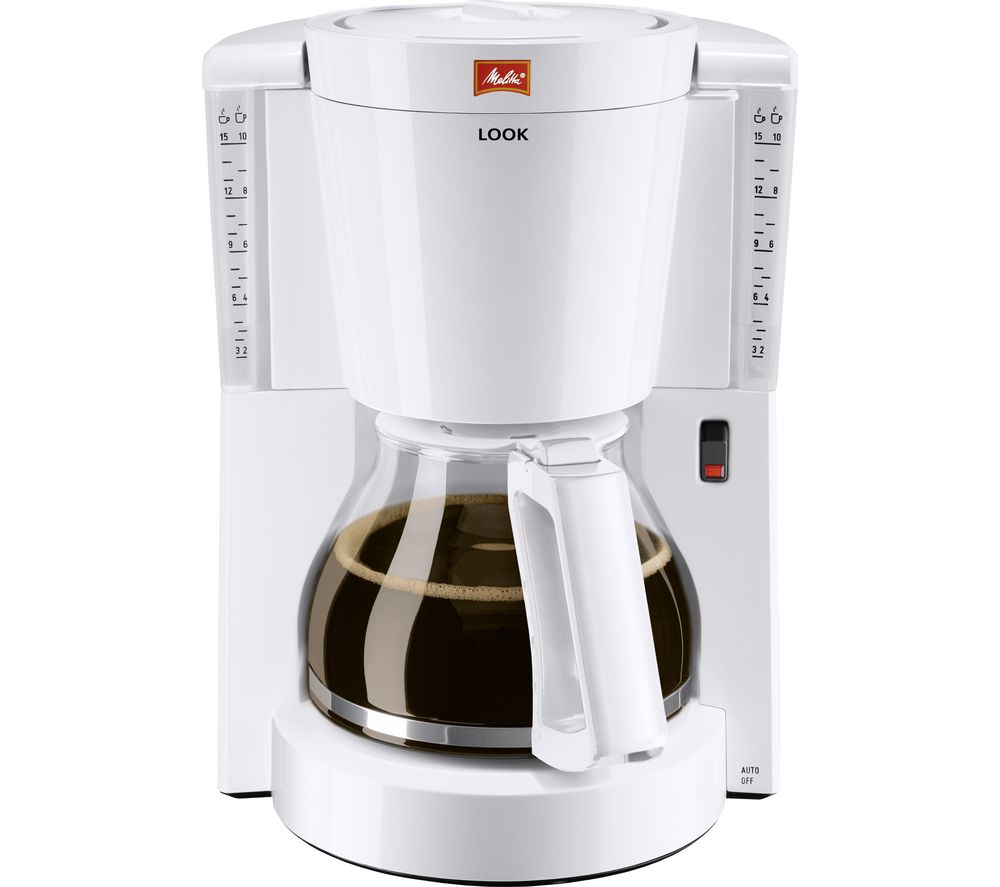 MELITTA Look IV Filter Coffee Machine - White