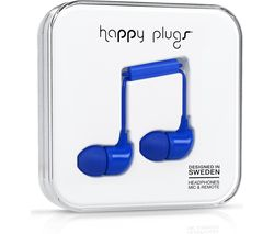HAPPY PLUGS HP7730 Headphones - Blue