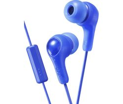 JVC HA-FX7M Gumy Plus Headphones – Blue