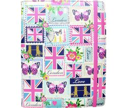 "ACCESSORIZE Love London 10"" Tablet Case"