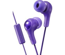 JVC HA-FX7M Gumy Plus Headphones – Violet