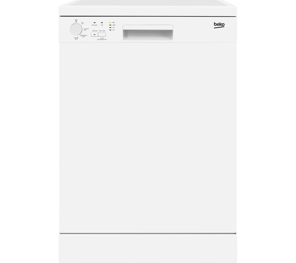 BEKO DFN04210W Full-size Dishwasher - White