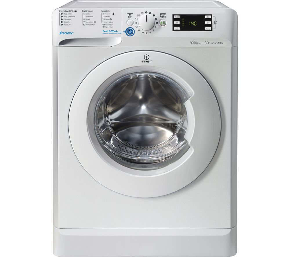 INDESIT Innex BWE 71453 W 7 kg 1400 Spin Washing Machine - White