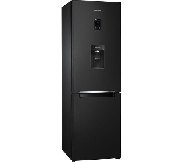 refrigerator 68. samsung rb31fdrndbc/eu 68/32 fridge freezer - black refrigerator 68 o