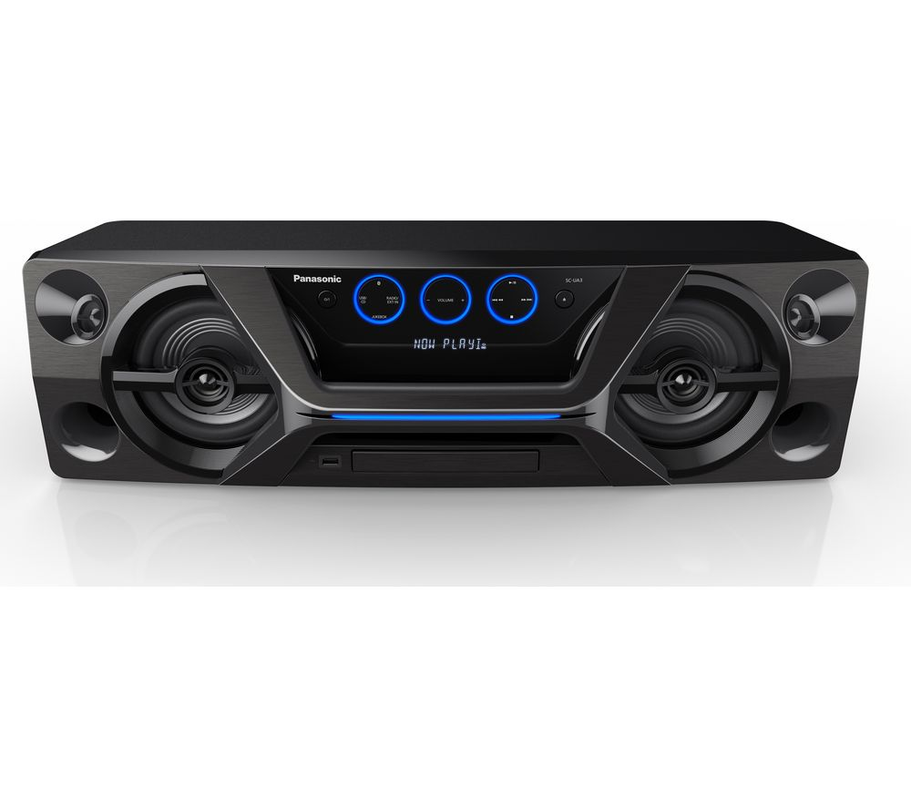 PANASONIC SC-UA3E-K Wireless Megasound Hi-Fi System - Black