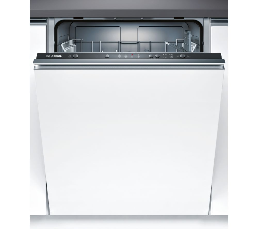 Image of BOSCH Serie 2 SMV24AX01G Full-size Integrated Dishwasher, Red