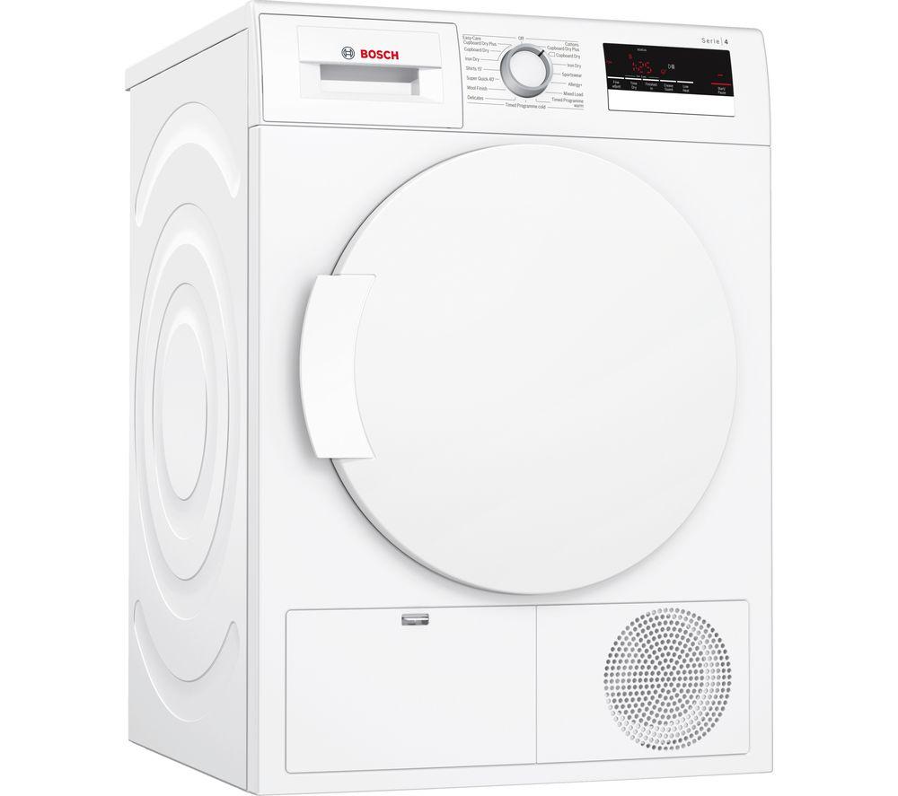 BOSCH WTN83200GB Condenser Tumble Dryer - White