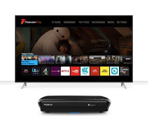 FVP-5000T/GB/BL/1TB - HUMAX FVP-5000T Freeview Play Smart