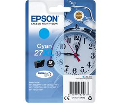 EPSON Alarm Clock 27XL Cyan Ink Cartridge