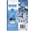 EPSON Alarm Clock 27XL Cyan Ink Cartridge