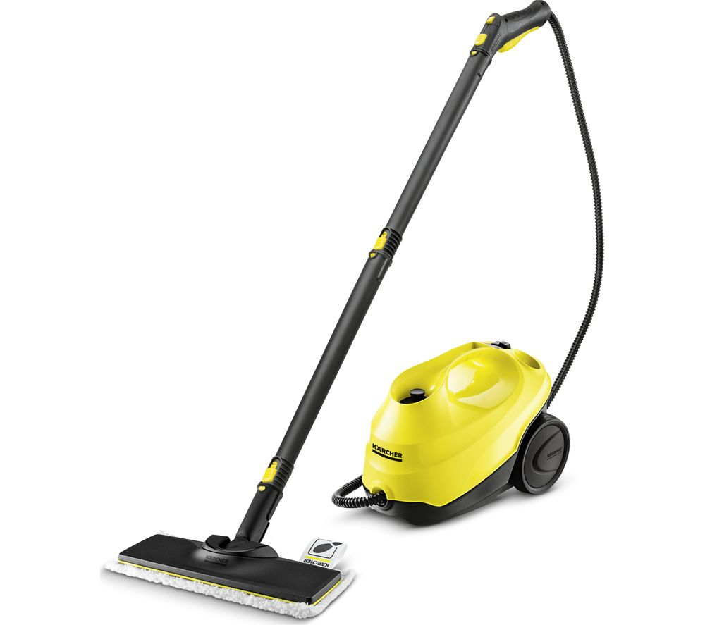buy karcher sc3 easyfix steam cleaner yellow free delivery currys. Black Bedroom Furniture Sets. Home Design Ideas