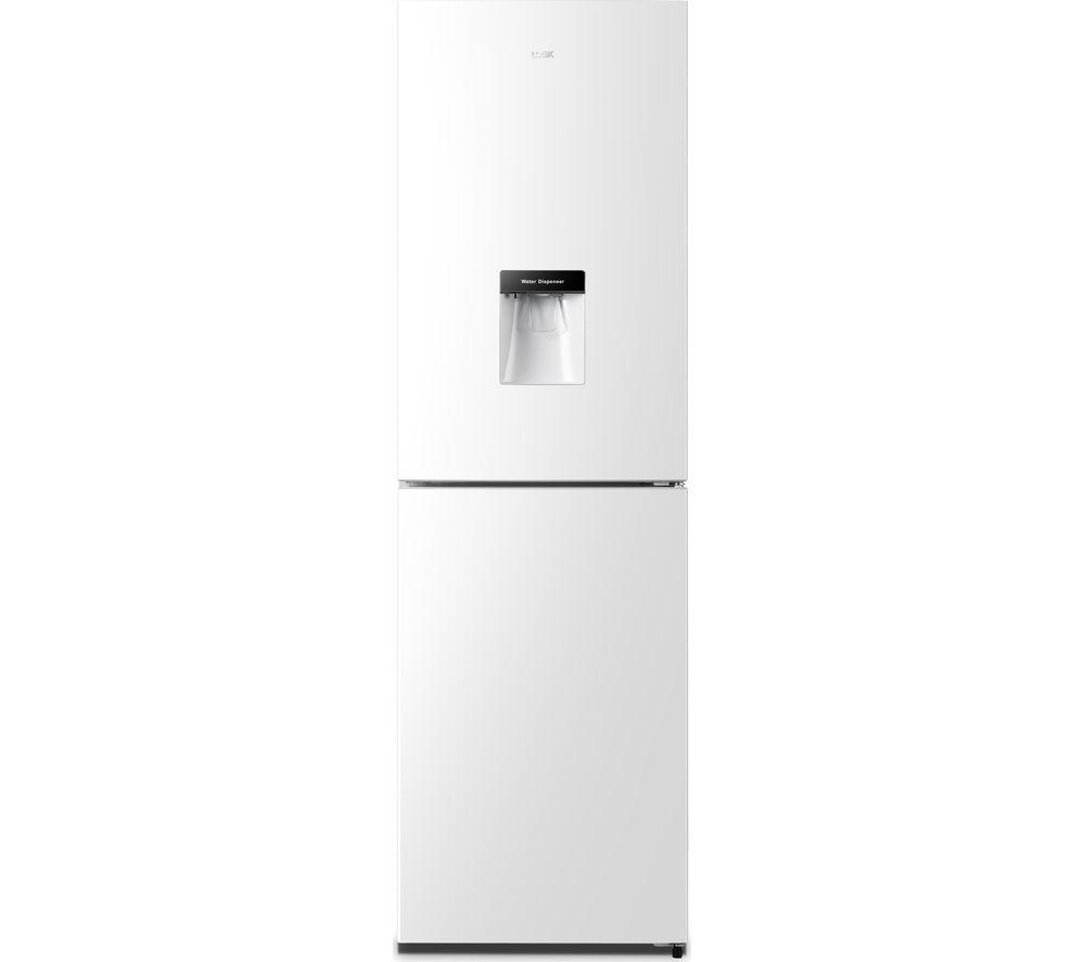 LOGIK LNFD55W18 50/50 Fridge Freezer - White
