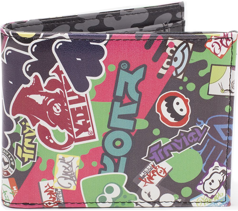 NINTENDO Splatoon 2 Logo Bifold Wallet