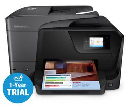 HP OfficeJet Pro 8718 Wireless Inkjet Printer with Fax