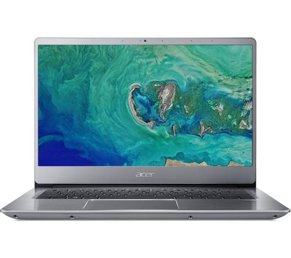 """Image of ACER Swift 3 14"""" Intel® Pentium® Gold Laptop - 128 GB SSD, Silver"""