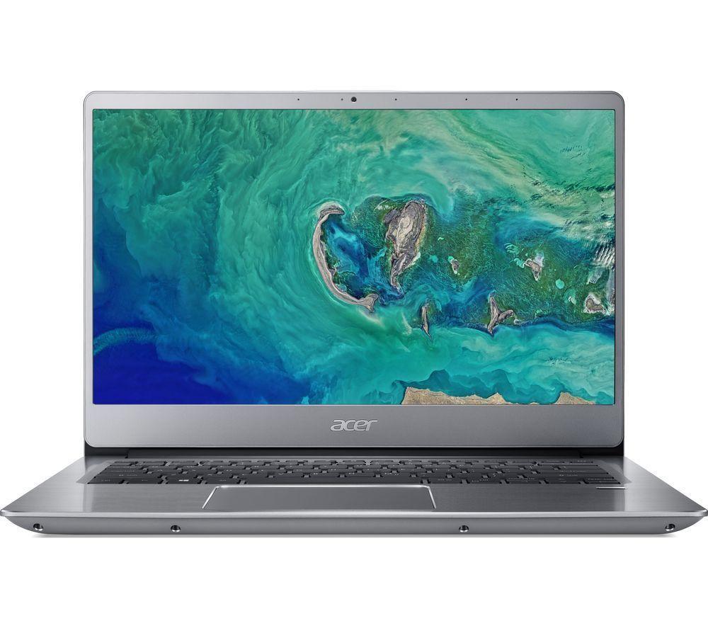 "ACER Swift 3 14"" Intel® Pentium® Gold Laptop - 128 GB SSD, Silver"