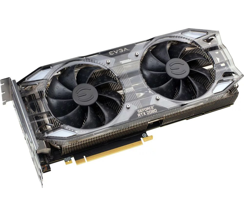 EVGA GeForce RTX 2080 8 GB XC ULTRA GAMING Turing Graphics Card