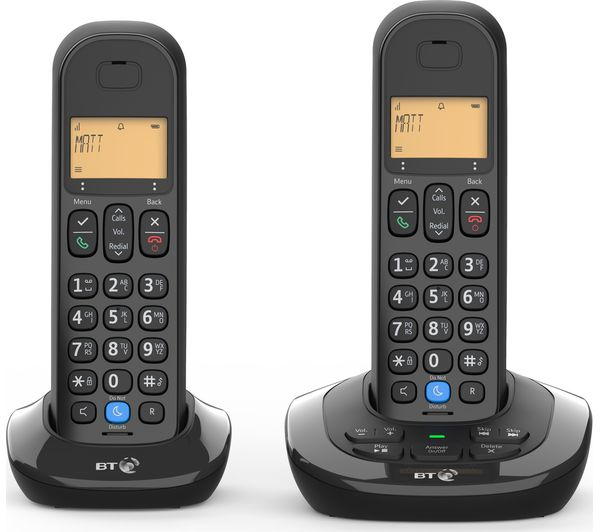 BT 3880 Cordless Phone - Twin Handsets