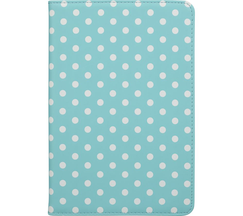 "GOJI 7.9"" iPad Mini Folio Case - Blue & White"