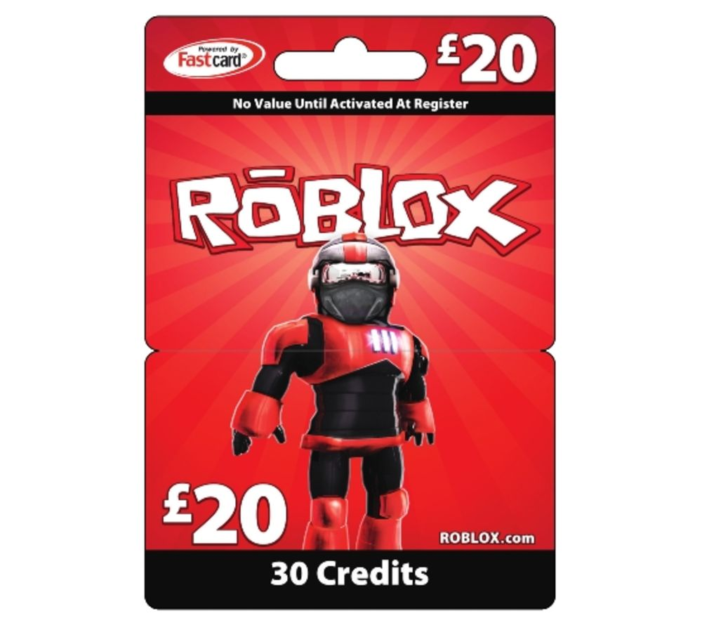Buy: Buy ROBLOX Gift Card - £20