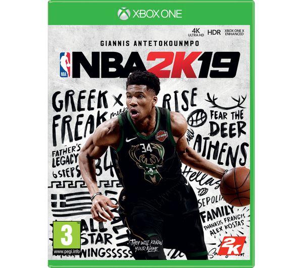 Image of XBOX ONE NBA 2K19