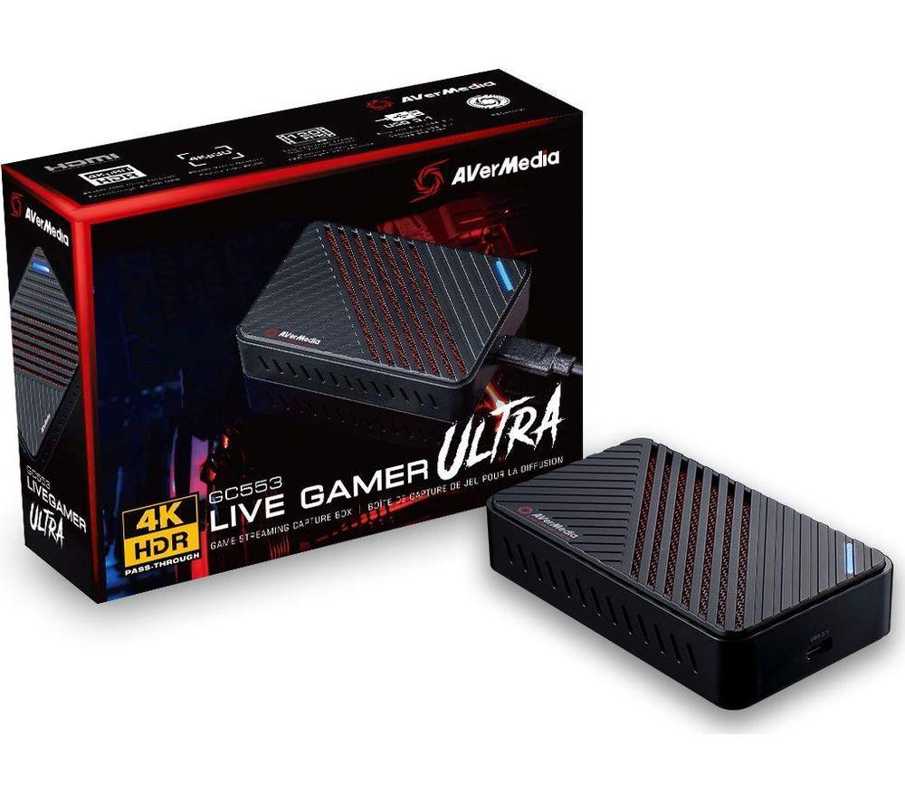 Image of Avermedia Live Gamer Ultra Capture Card, Green