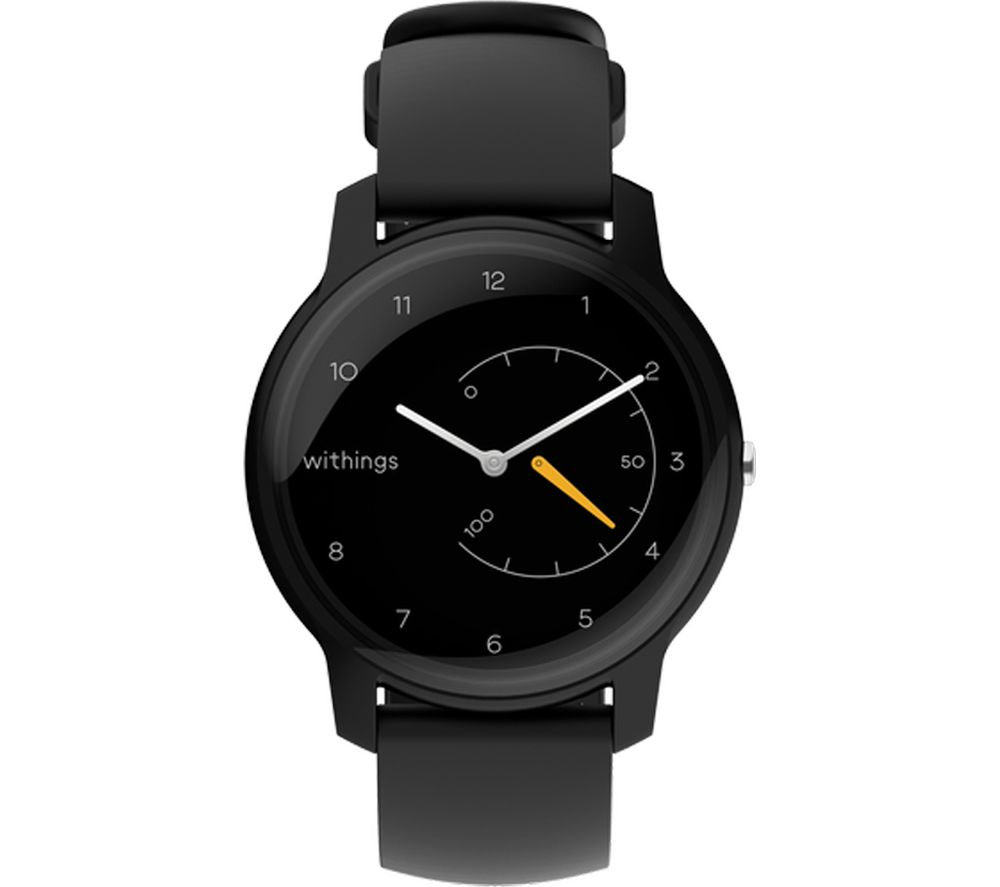 WITHINGS Move Activity Tracker - Black & Yellow