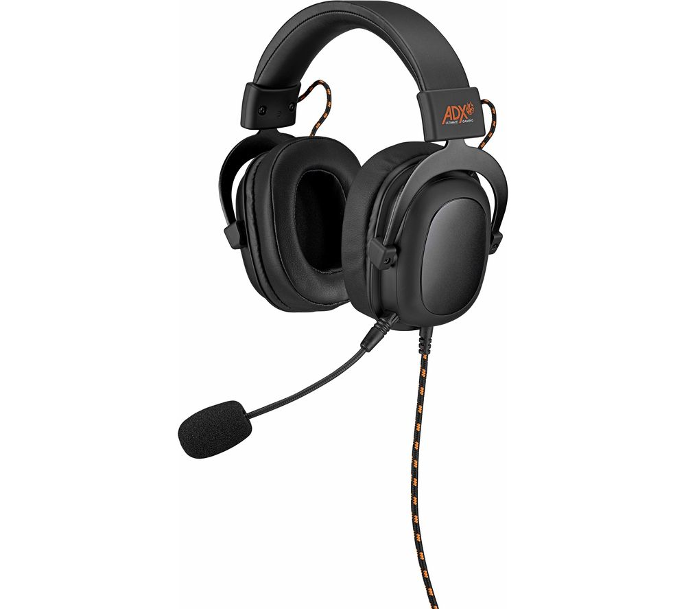 ADX AFSH0119 Gaming Headset - Black & Orange