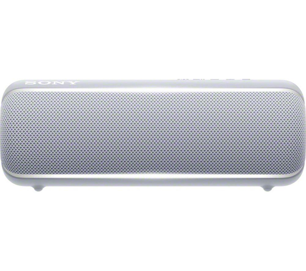 SONY EXTRA BASS SRS-XB22 Portable Bluetooth Speaker - Grey, Grey