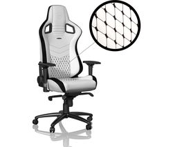 Epic Gaming Chair - White & Black