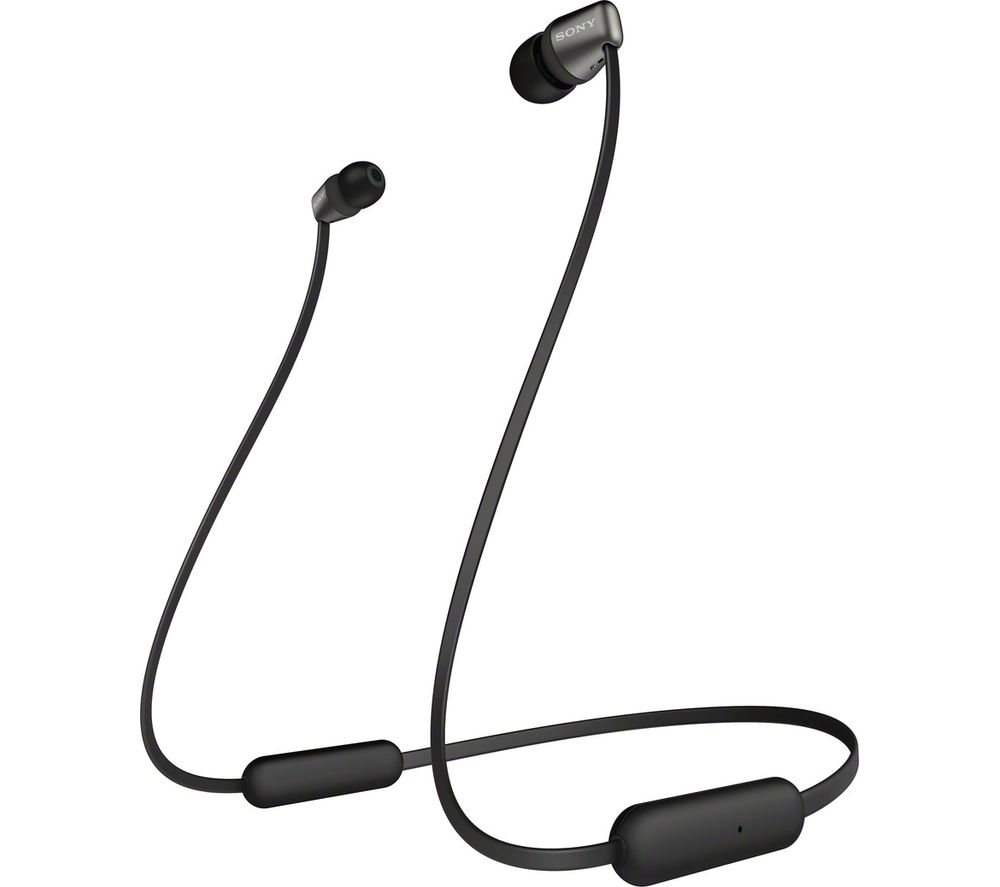 SONY WI-C310B Wireless Bluetooth Earphones - Black