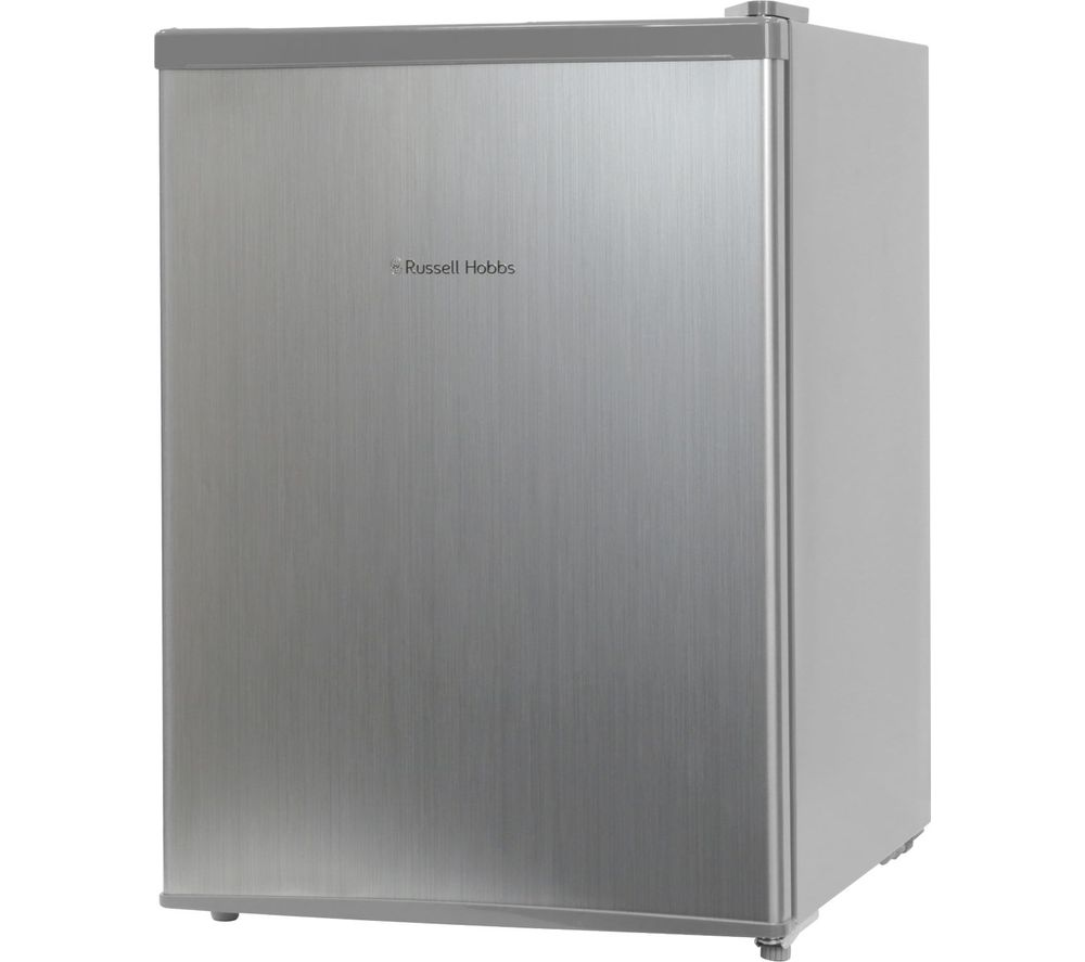 RUSSELL HOBBS RHTTF67SS Mini Fridge - Stainless Steel