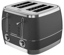 Cosmopolis TAM8402B 4-Slice Toaster - Black