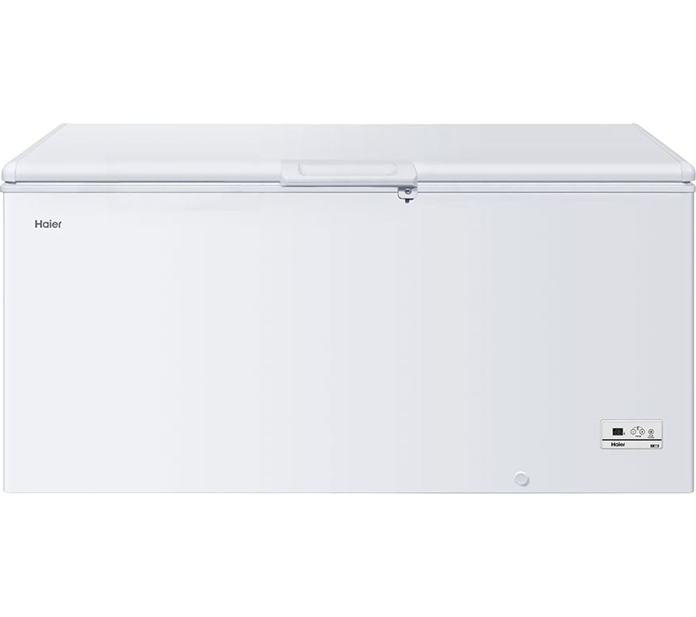 HAIER HCE519R Chest Freezer - White, White