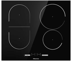 HISENSE I6433C Electric Induction Hob - Black Best Price, Cheapest Prices