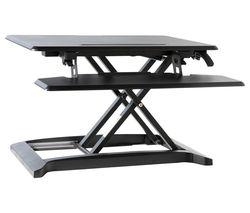 AW9100-BLK Standing Desk Converter - Black