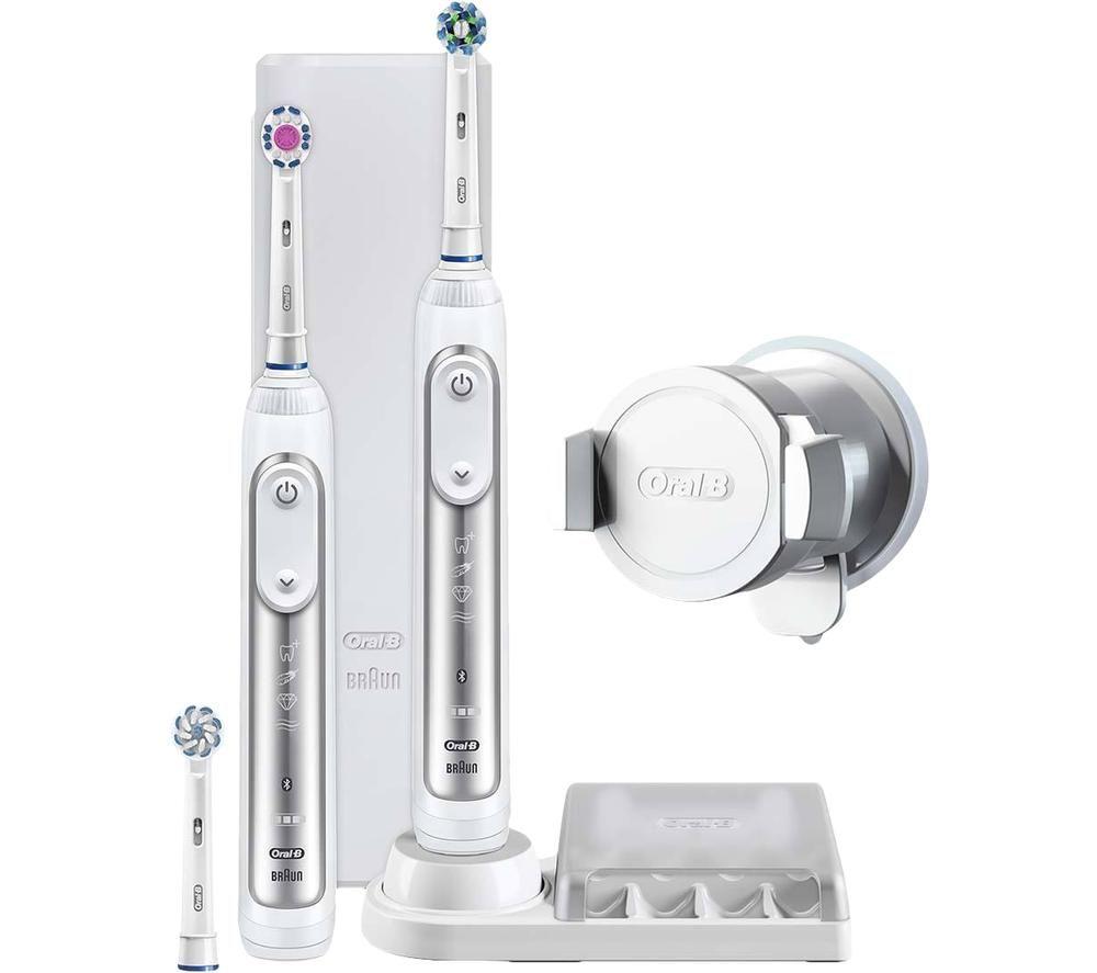 Image of Genius 8900 Electric Toothbrush - White, White