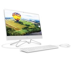 "HP 22-c0058na 21.5"" All-in-One PC - Intel® Celeron™, 128 GB SSD, White"